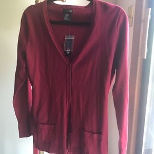 East 5th Jackets & Coats - East 5th Cardigan Classic Red Medium